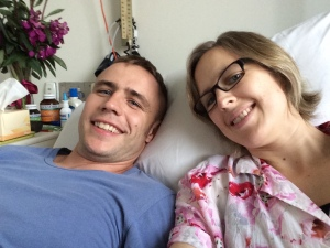 Big hospital date for our 10th Wedding Anniversary!