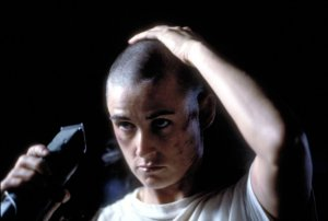 gi jane shaving head