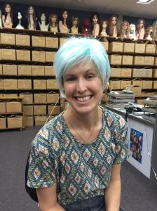 wig ice blue