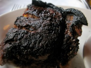 filet burnt